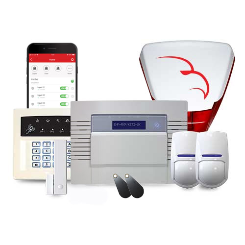 Pyronix enforcer kit wireless intruder alarm with bell box